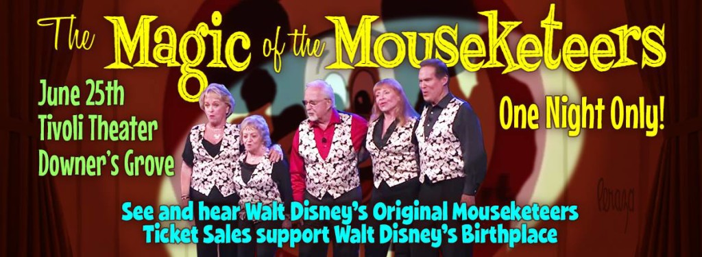 Magic of the Mouseketeers Peraza Banner